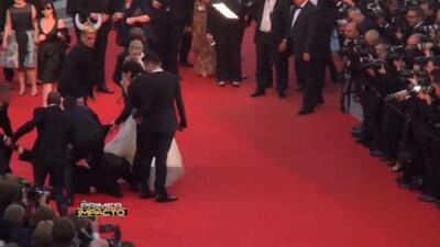 Tremendo susto paso la actriz América Ferrera