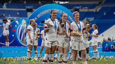 El Team USA Femenil con gran presencia en las nominaciones de FIFA