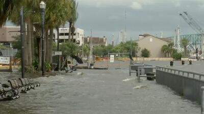 En video: Un río desbordado e inundaciones récord en Jacksonville