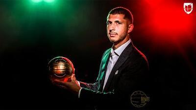 Guido Rodríguez: ganador del Balón de Oro al Mejor Jugador del año