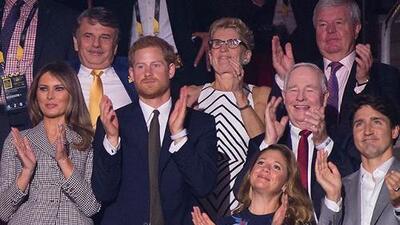 Melania Trump, Trudeau y príncipe Harry abren los Juegos Invictus en Toronto