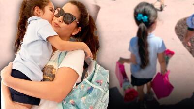 Ana Patricia preparó una sorpresa especial para despedir el primer año de Giulietta en la escuela