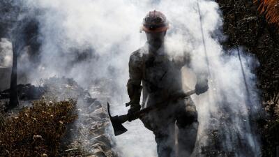 La caravana en Tijuana, tragedia en California y comenzó el juicio a 'El Chapo': 10 fotos de la semana