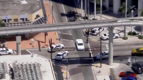'Miami en un Minuto': Un hombre termina herido tras un tiroteo en el Downtown de Miami