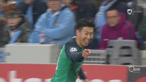 Con estos goles, Tottenham tiene sufriendo al Manchester City en su casa