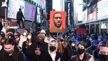 Nueva York se blinda ante posibles protestas por el veredicto del juicio por la muerte de George Floyd