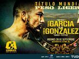 Erick González (USA) se enfrenta a Rafael García (MEX) por el peso ligero