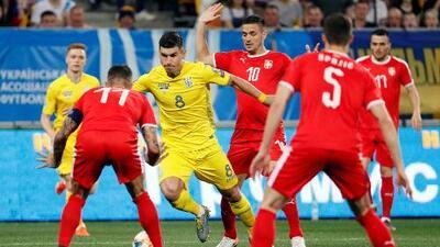 Ucrania 5-0 Serbia - RESUMEN Y GOLES - Grupo B - Clasificatorio Eurocopa 2020
