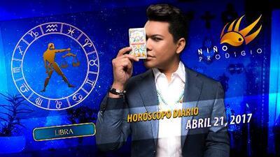 Niño Prodigio - Libra 21 de abril 2017