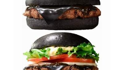 La hamburguesa negra lo nuevo de Burger King