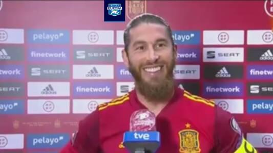 Sergio Ramos resta importancia a jugar pocos minutos con España
