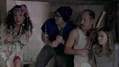 Federico hizo creer a Ana y Fernando que había un fantasma en la casa