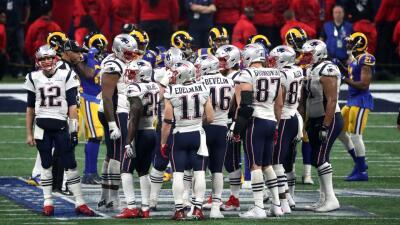 El Super Bowl LIII lidera el Top 5 de los marcadores más bajos en la historia del partido más importante de la NFL