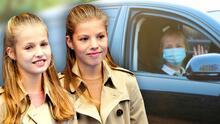 A tres días de regresar a la escuela, la princesa Leonor y su hermana Sofía son puestas en cuarentena