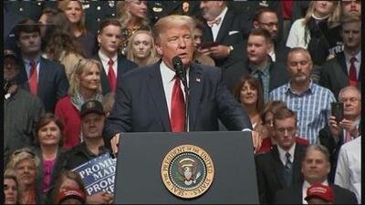 """Trump dice que el freno a su nuevo veto migratorio es un """"exceso judicial sin precedentes"""""""