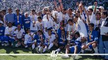 Cruz Azul y el repaso de su última corona en el Invierno 97 con gol de Carlos Hermosillo