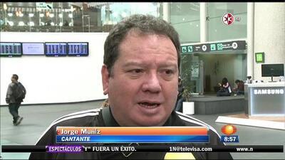 Jorge Muñiz se encuentra bien de salud