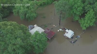 Graves inundaciones y hasta el descarrilamiento de un tren: tormentas en cinco estados dejan escenas dramáticas