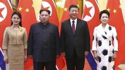 Kim Jong Un se reúne en secreto con el presidente de China, Xi Jinping