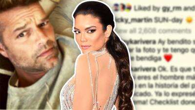 Tenemos la foto de Ricky Martin que provocó el desahogo de la ex Miss Universo, Zuleyka Rivera