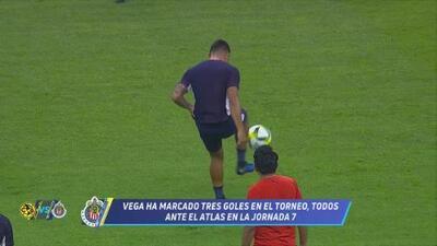 ¿Ronaldinho? Alexis Vega practica jugada de calidad