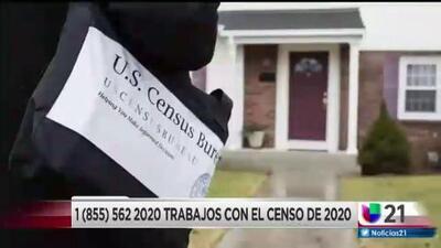 El censo de Estados Unidos está abriendo varias oficinas.