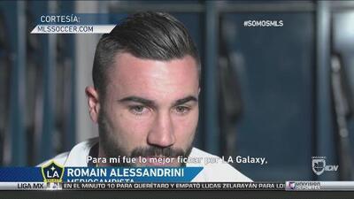 """Alessandrini: """"Para mí, lo mejor fue fichar para el LA Galaxy"""""""