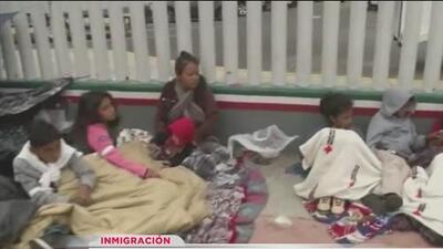 Caravana de inmigrantes ya llegó a la frontera con San Ysidro