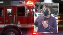 """""""Pensé que era un simulacro"""": 'El Carita' cuenta lo que vivió al tener que salir corriendo del edificio de Univision por emergencia"""