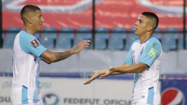 Guatemala destroza a San Vicente en eliminatorias a Qatar 2022