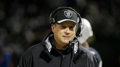 Los 32 cerebros estratégicos de la NFL: Jack Del Rio revive a los Raiders