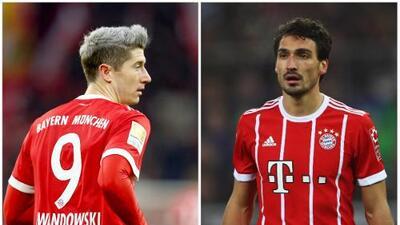 Se calentaron los ánimos, Hummels y Lewandowski se pelean en entrenamiento del Bayern