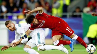 Revivimos la falta de Sergio Ramos a Mohamed Salah en la final pasada de la Champions