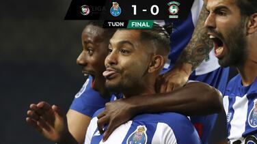 Golazo de 'Tecatito' Corona devuelve liderato al Porto
