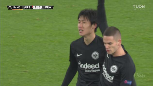 ¡Llegó el empate para las Águilas! Golazo de Daichi Kamada para el 1-1