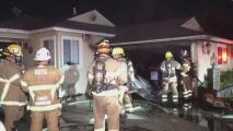 """""""Fue algo provocado"""": un desconocido le prende fuego a la casa de una familia en Santa Ana mientras todos dormían"""