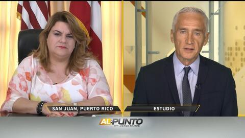Comisionada residente de Puerto Rico defiende al gobernador pese a las casi 3 mil muertes tras 'María'