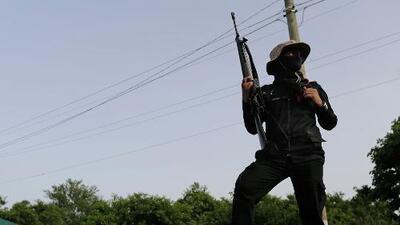 """Con un """"viva el comandante Daniel Ortega"""" y tiros al aire, paramilitares se toman Masaya en Nicaragua"""