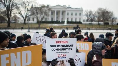 Para los salvadoreños de Washington DC, el fin del TPS no es su único problema