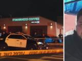 Hispano esperaba ser atendido en Starbucks cuando fue baleado mortalmente al azar