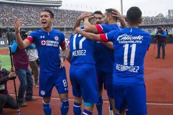 En fotos: el golpe de autoridad de Cruz Azul en casa de Pumas para retomar el liderato