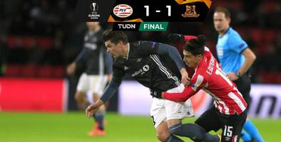 Con error de 'Guti', el PSV empató en casa y quedó eliminado