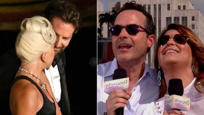 ¿Lady Gaga y Bradley Cooper se pasaron de románticos frente a la novia de él? Analizamos lo que pasó en los Oscar