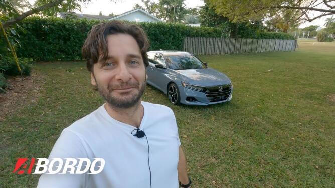5 Minutos A Bordo del Honda Accord Sport 2.0 Turbo 2021   Univision A Bordo