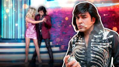 Albertano se gana el corazón de Laurita Fernández tras bailar con ella este tango
