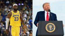 Hasta que se vaya Trump... Lakers visitará Casa Blanca con Biden