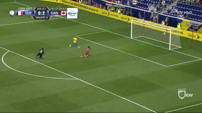 Goooolll!! Alphonso Davies mete el balón y marca para Canada