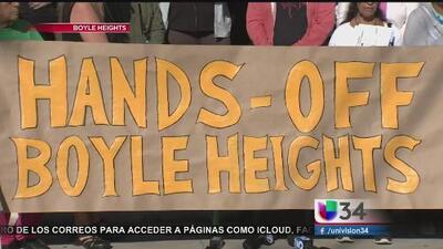 Vecinos de Boyle Heights responden a acusaciones de vandalismo