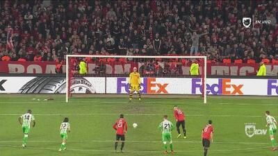 El tercero del Rennes llegó por un penal injusto