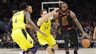 Pacers sorprenden a Cavs y ganan el primero en Cleveland
